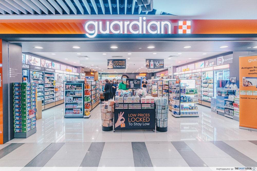 Guardian Singapore Storefront