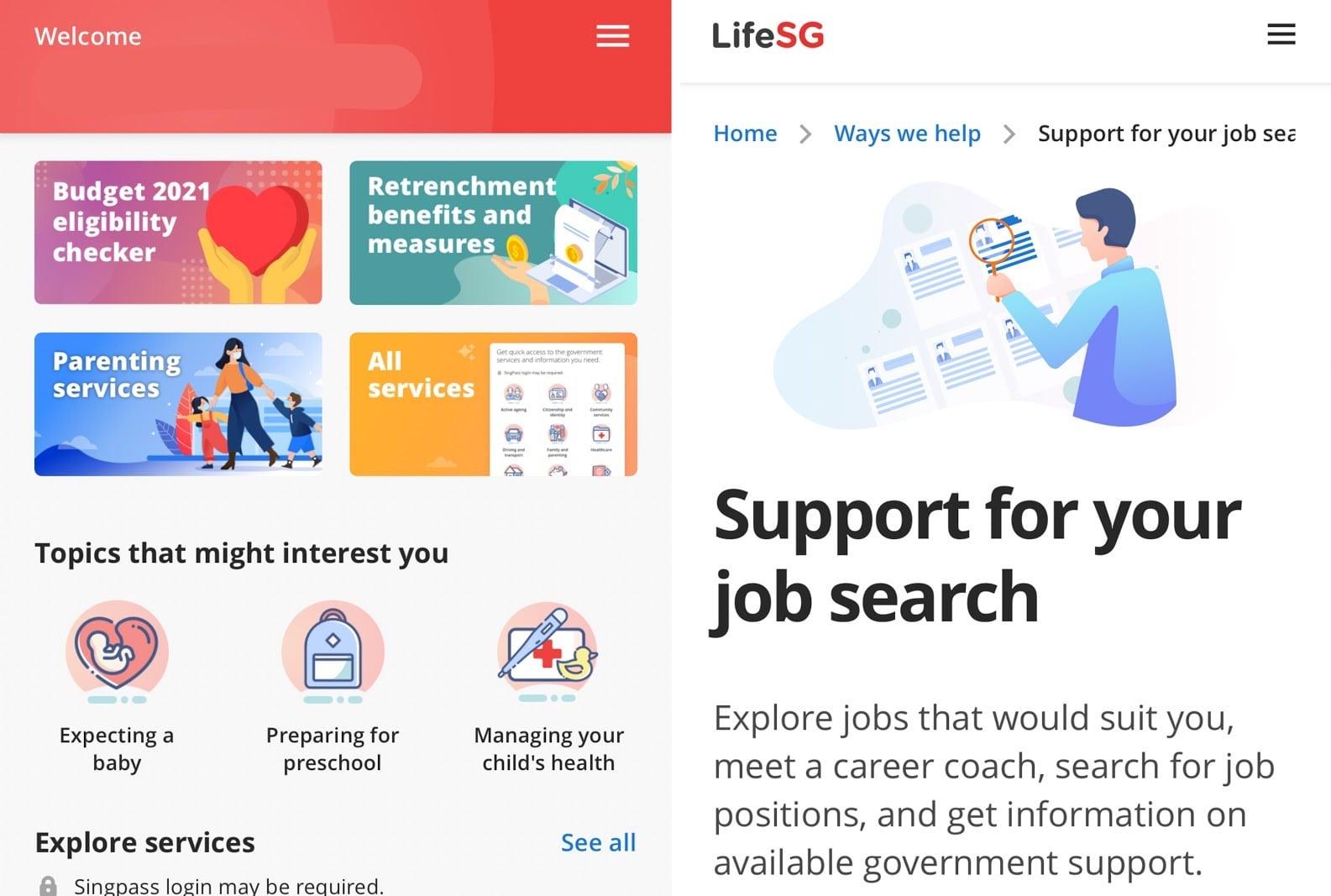 Job Search Mistakes - LifeSG