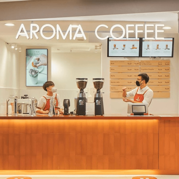New Cafes And Restaurants June 2021 - Aroma Coffee