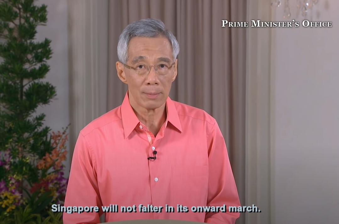 pm lee addresses the nation