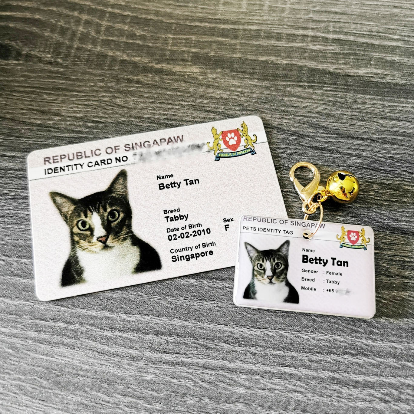 Plus Accessories - NRIC for Pets