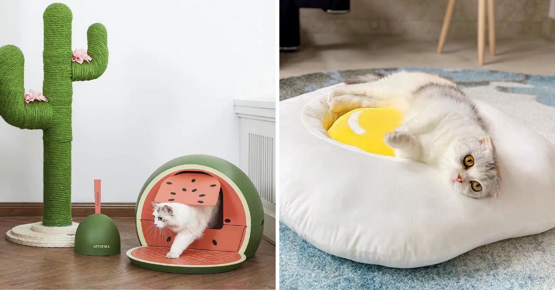 So Fur So Good food-themed furniture