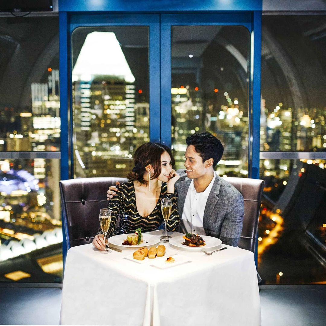 Romantic Places in Singapore - Singapore Flyer
