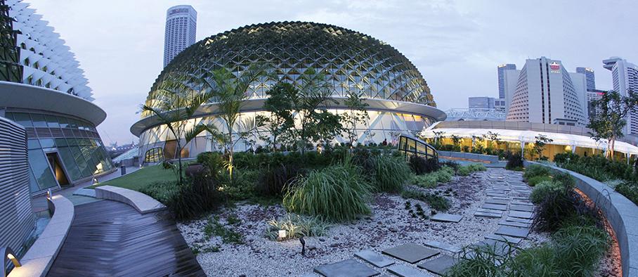 Esplanade roof terrace