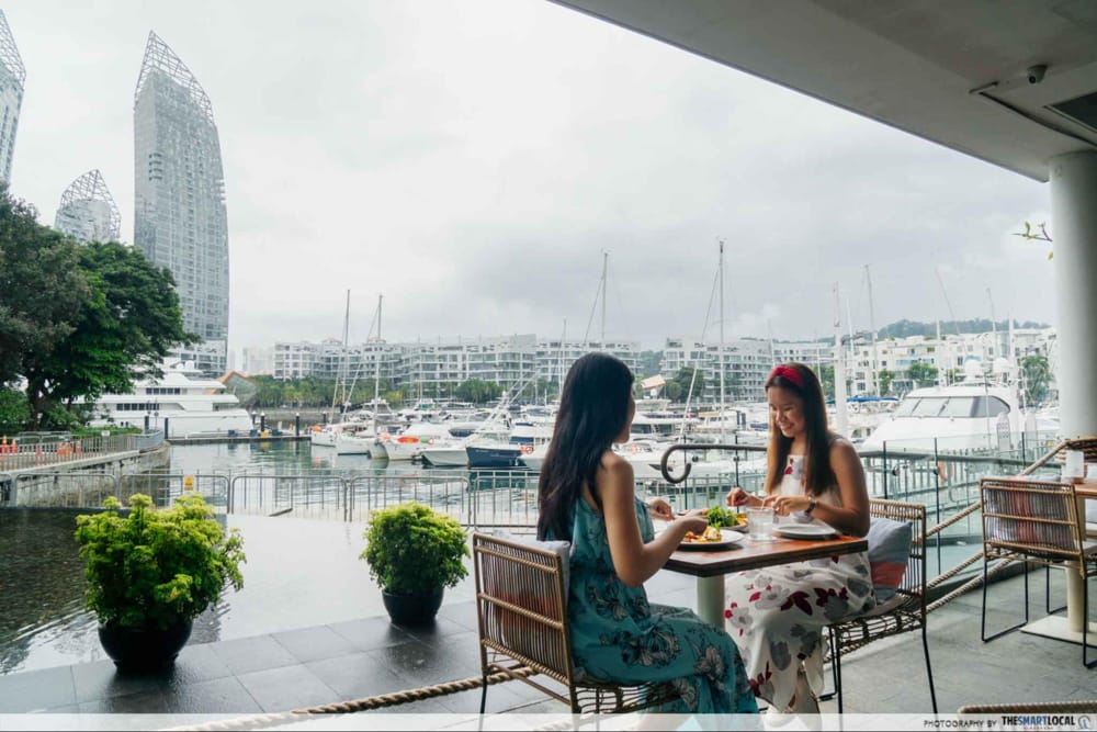 Romantic places in Singapore - Marina at Keppel Bay