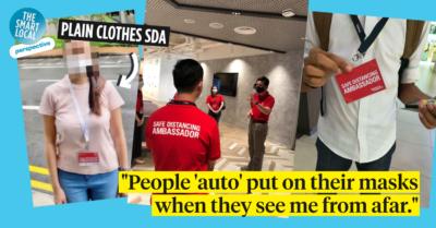 safe distancing ambassador singapore