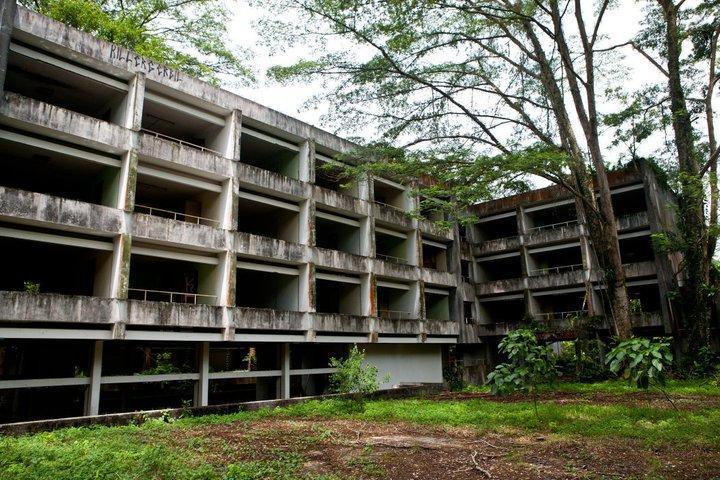 Tanglin Hill Brunei Hostel abandoned
