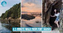 Tanjong Rimau Beach: Sentosa's Best Kept Secret With Hidden Caves & Marine Wildlife
