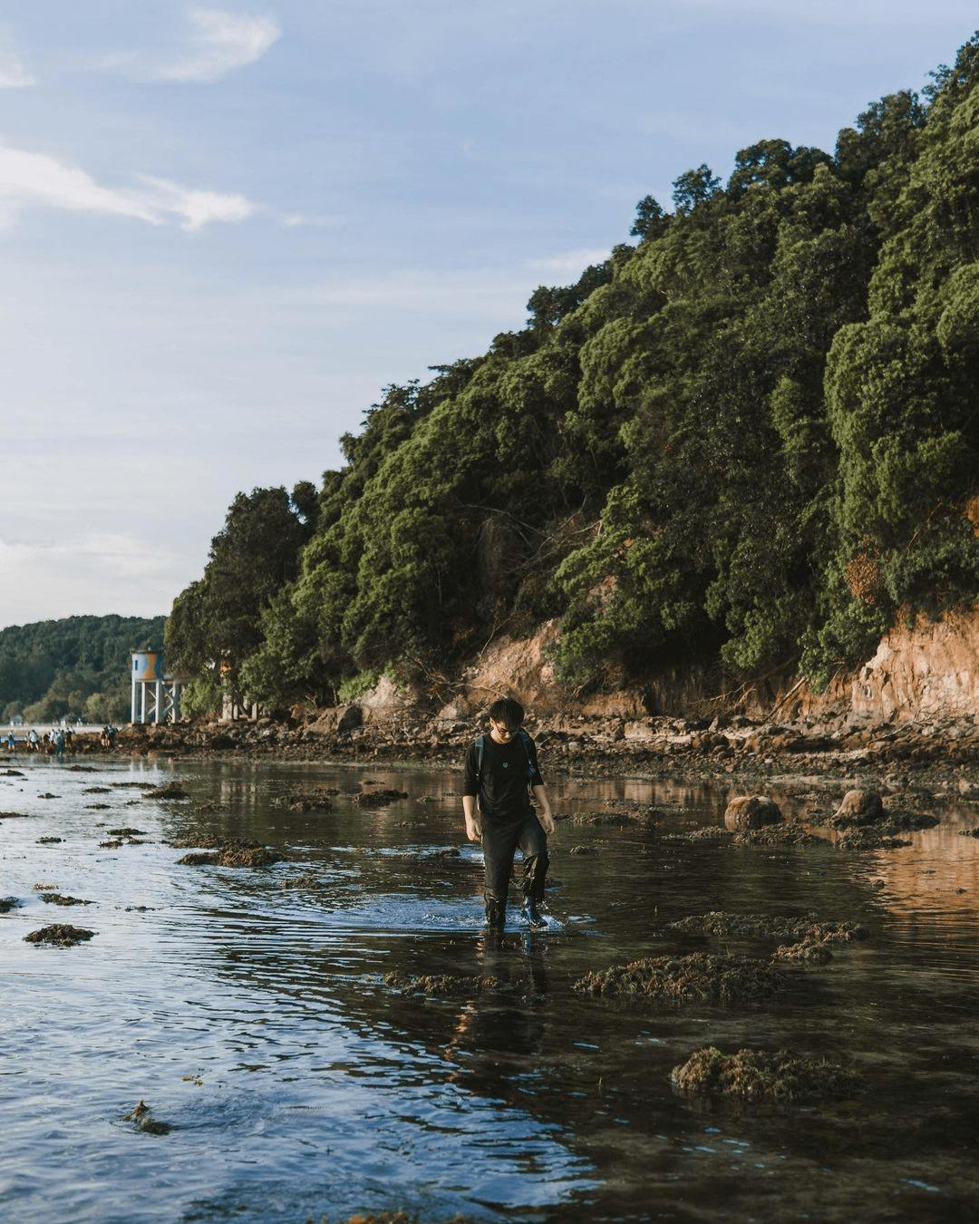 Tanjong Rimau Beach - Tide Pools