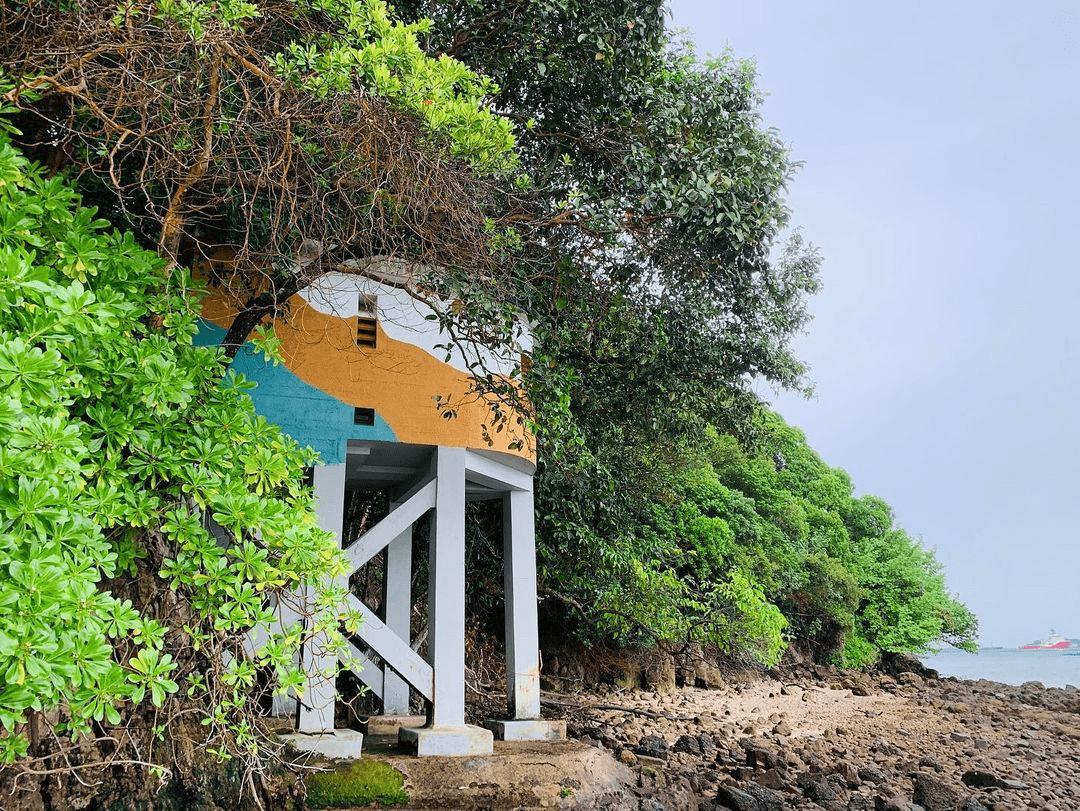 Tanjong Rimau Beach - Watch Tower