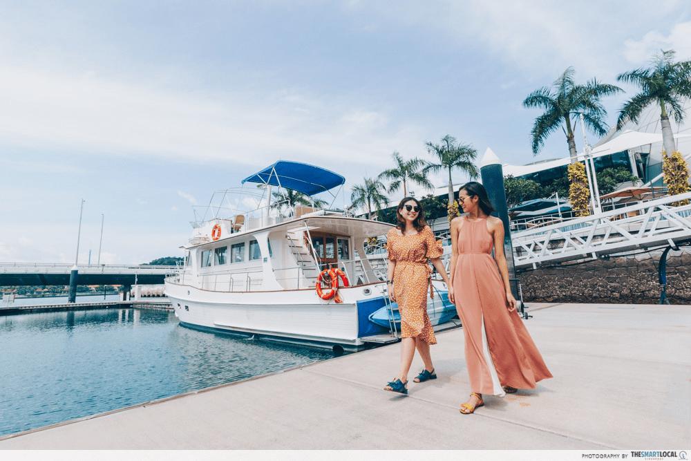Friends Yacht Ride