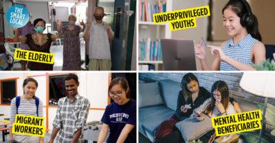 Volunteer work in Singapore