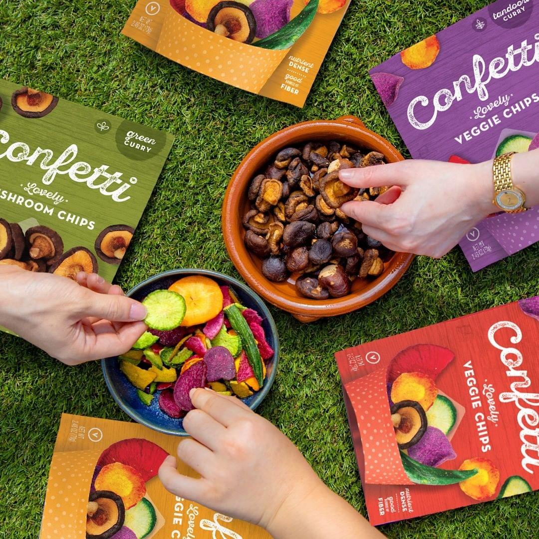 Confetti Snacks Vegetable Chips - WFH Essentials