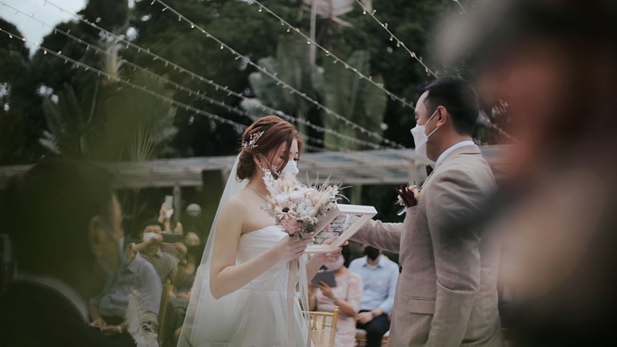 Wedding during Covid Phase 2 Heightened Alert (Clara Choo - Yueying Films)