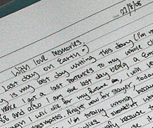 slayers suicide pact diary entry