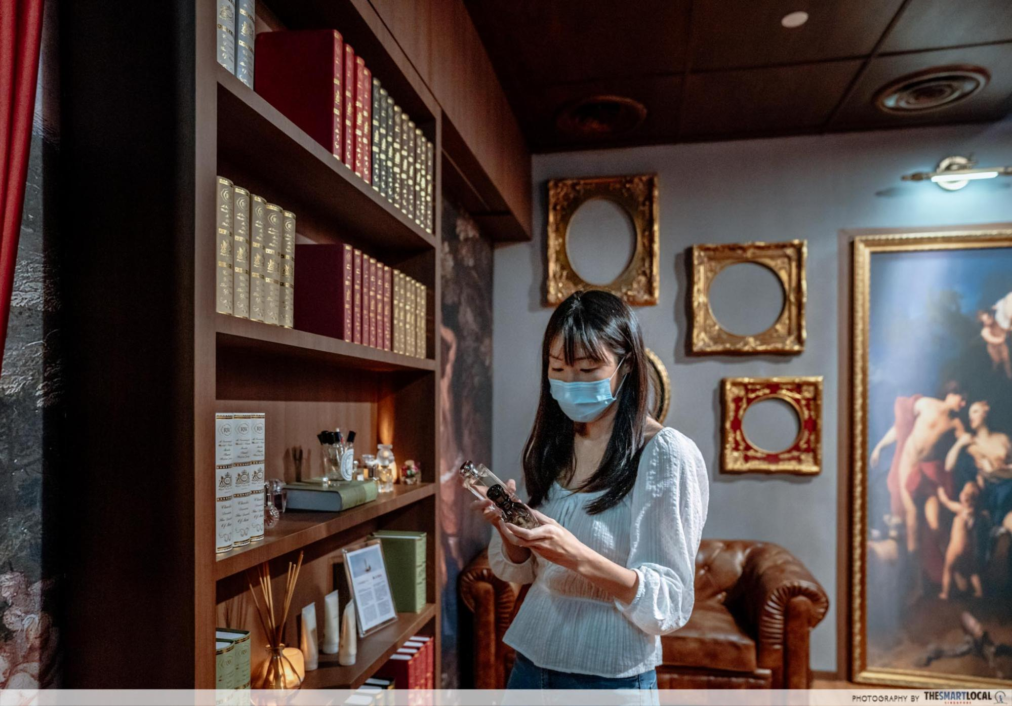 Chez Vous HideAway Ngee Ann City Hair Salon With Free Spa Perks - Perfume Library