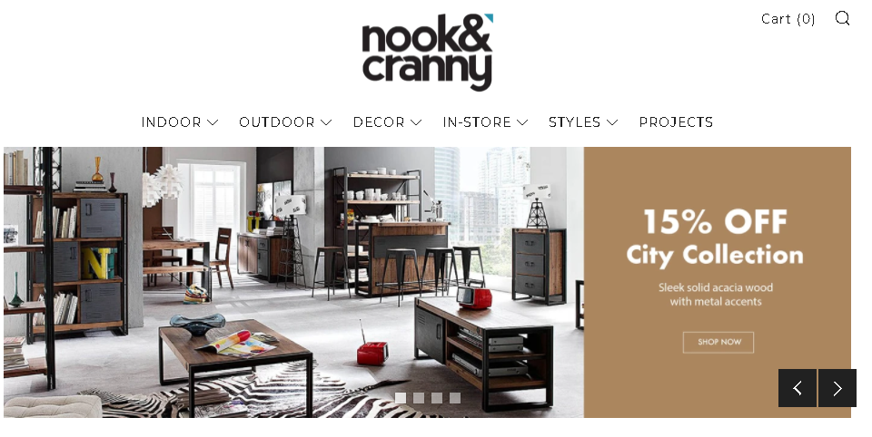 Where to buy furniture online in Singapore - Nook & Cranny