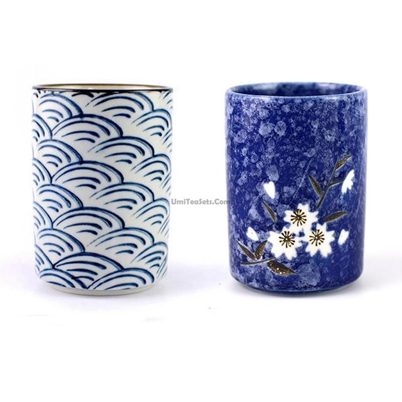 Japanese tea cup set umi tea