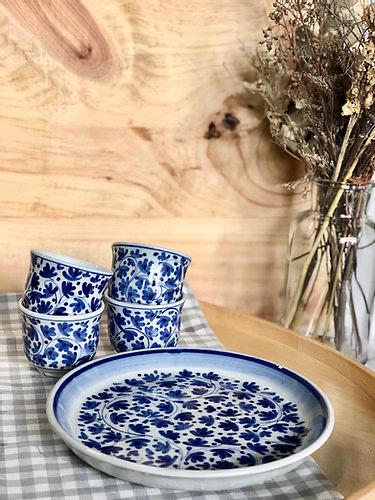 how twang pottery jungle tea sets