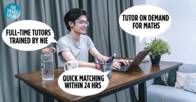 Online tutors in Singapore cover image