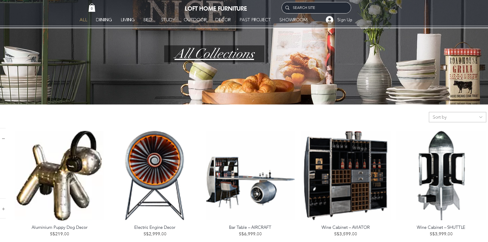 Where to buy furniture online in Singapore - Loft Home Furniture