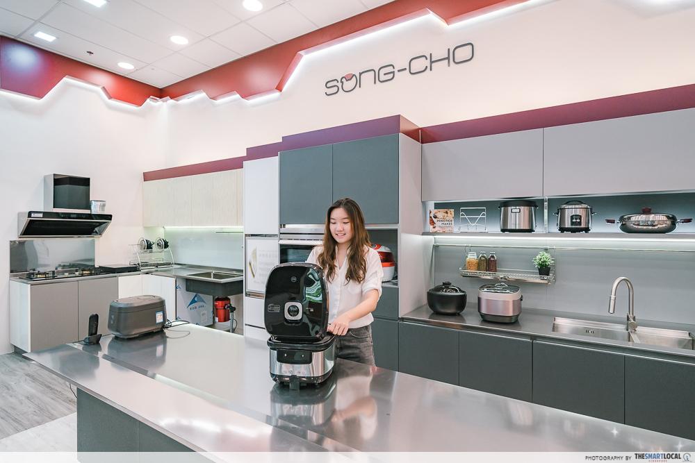 Song-Cho showroom