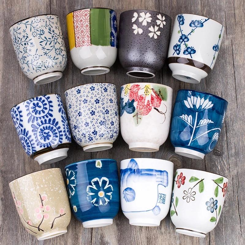 Shopee Japanese tea cup floral