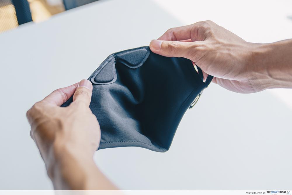 AIR+ Reusable Mask plush cushion