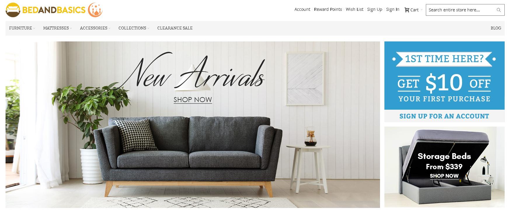 Where to buy furniture online in Singapore - Bedandbasics