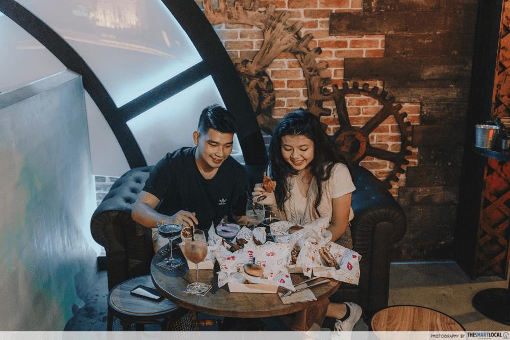 late night date ideas - Rails