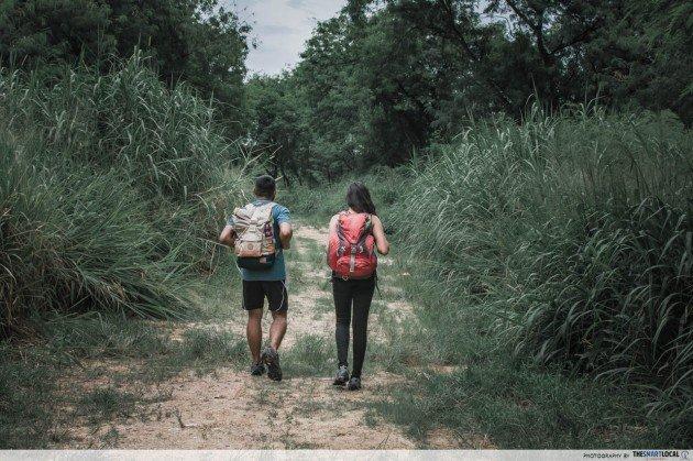 lorong halus wetland - singpaore hiking