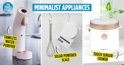 Minimalist kitchen equipment