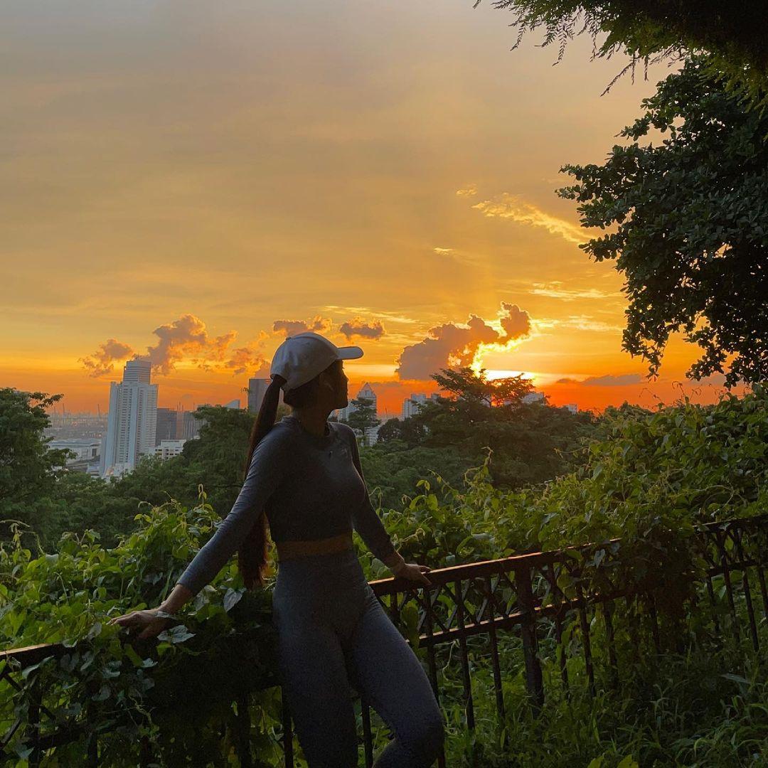 sunset walking trail