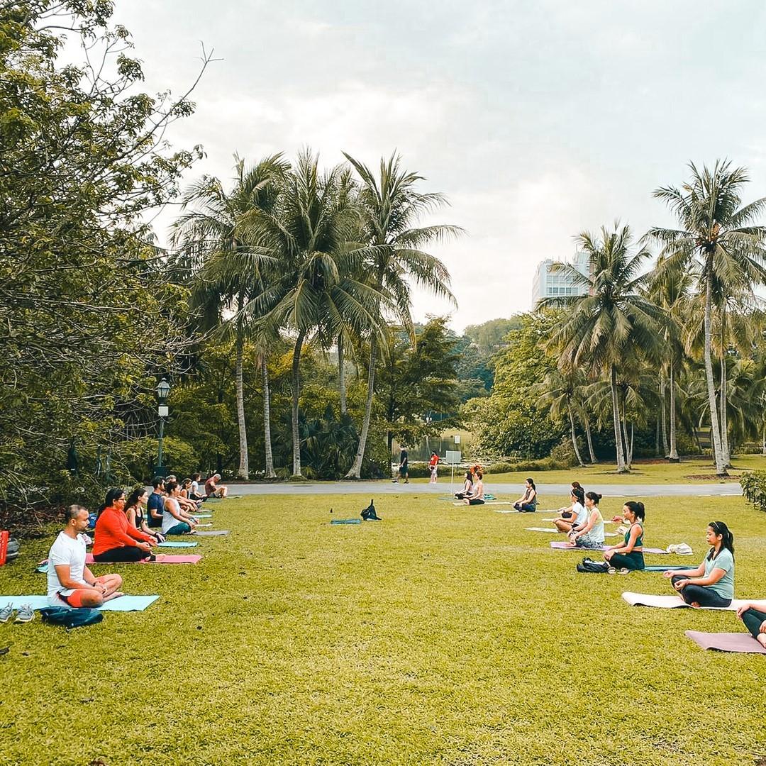 outdoor gyms singapore - Urban Yogis