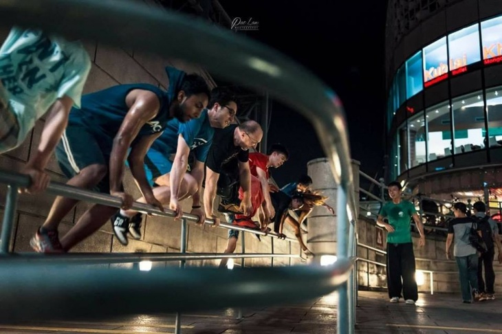 outdoor gyms singapore - MOVE Academy