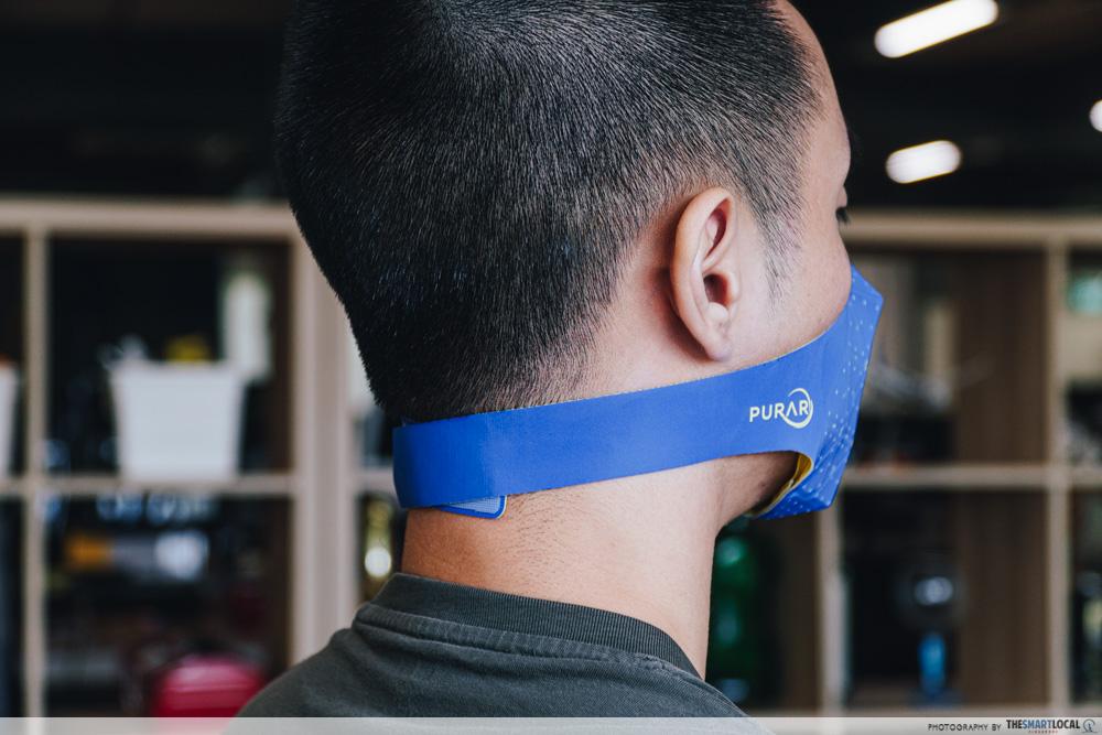 purar mask neck strap