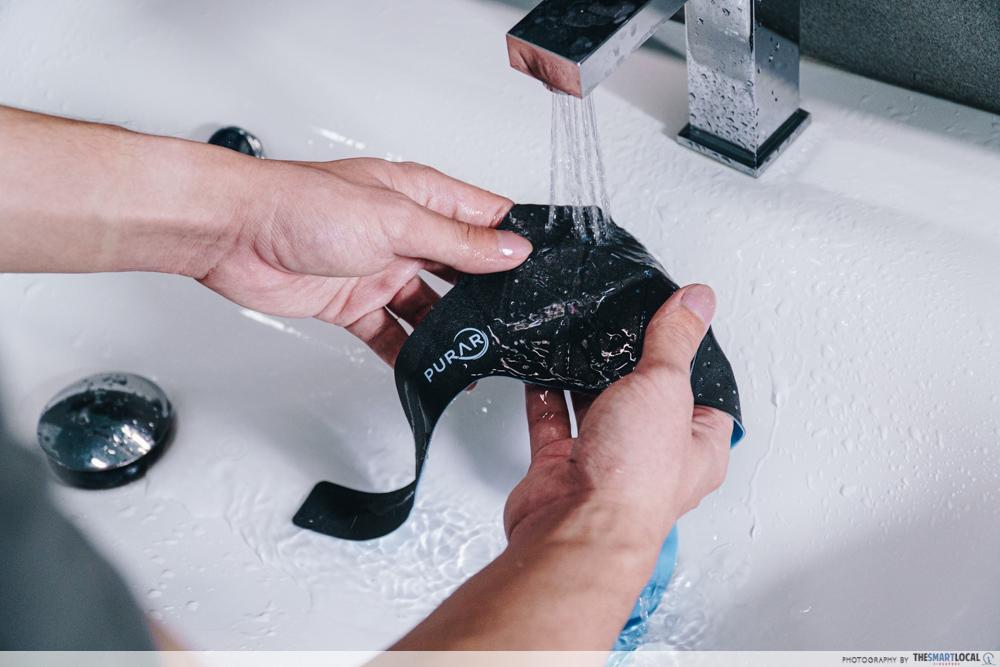 washing face mask