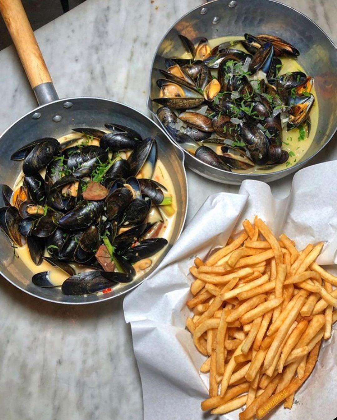 restaurant food delivery singapore - BTM Mussels & Bar