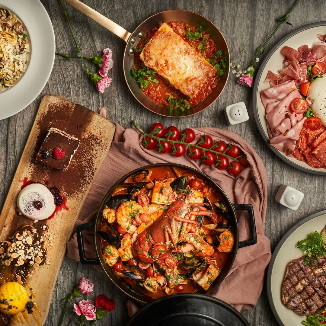 restaurant food delivery singapore - Waterfall Ristorante Italiano