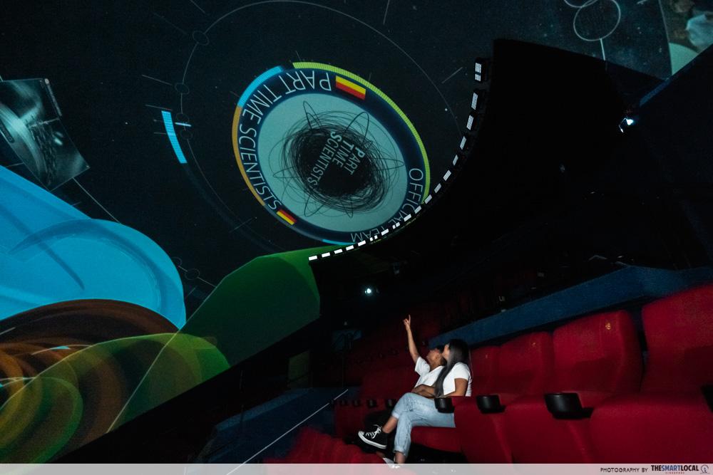 science centre singapore 2021 - omni-theatre dome theatre