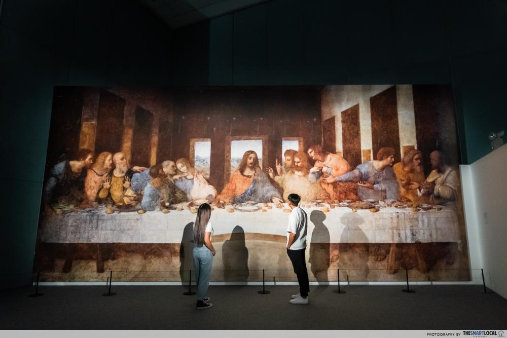 science centre singapore 2021 - Da Vinci last supper singapore