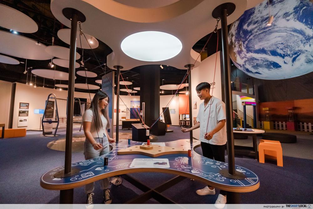 science centre singapore 2021 - disaster teamwork