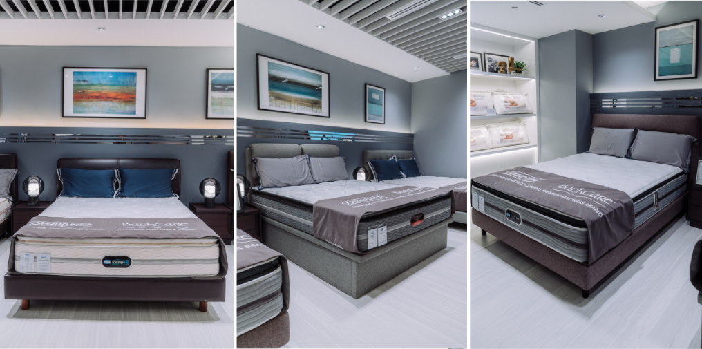 simmons mattress promo: marina bay series, jubilee series, backcare e-ions Crystal Series