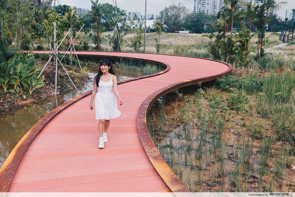 things to do in west singapore - lakeside garden rasau boardwalk