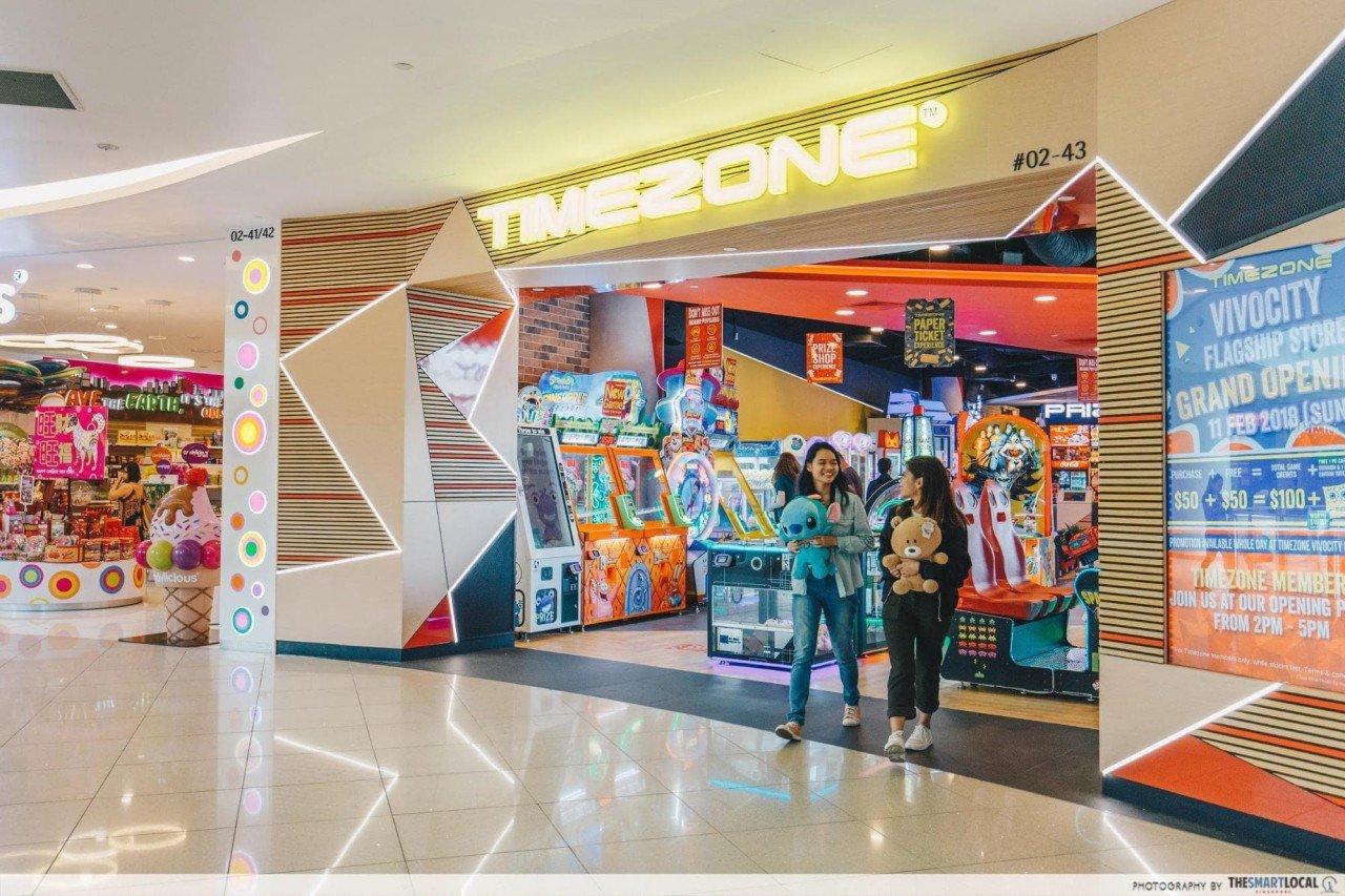 timezone vivocity arcade
