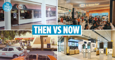 Fast Food in Singapore Then Now