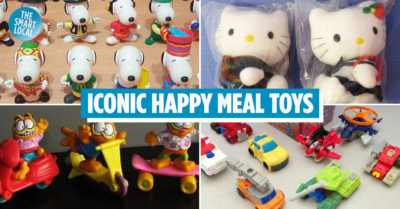 Happy Meal Toys Singapore McDonald's