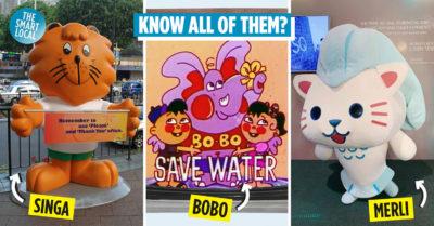 Singapore Mascots cover image