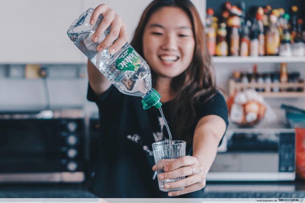 Singaporean Culture - Water Bottle