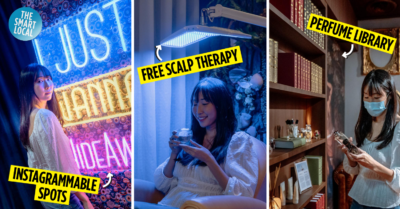 Chez Vous HideAway Ngee Ann City Hair Salon With Free Spa Perks - Instagrammable zones